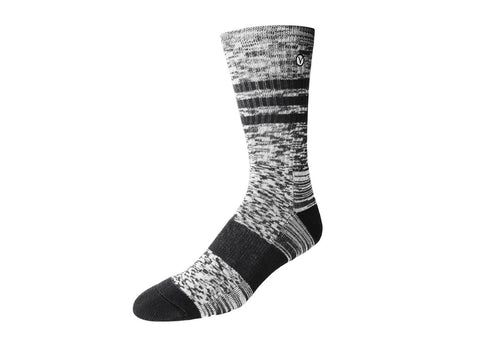 Men's Casual Crew Sock - Charcoal Gray