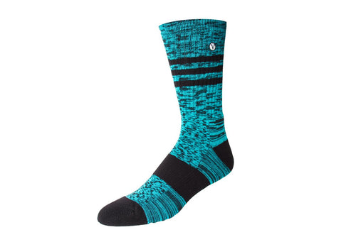 Men's Casual Crew Sock - Turquoise