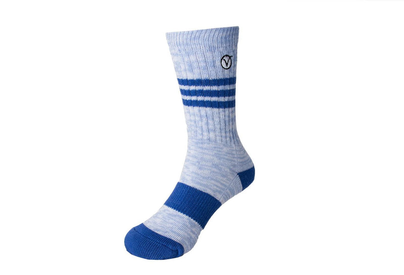 Boy's Casual Crew Sock - Light Blue
