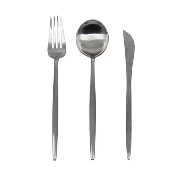 Statement Stainless Steel Flatware