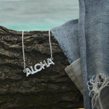 Aloha Necklace in Sterling Silver