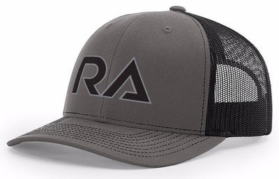 Grey/Black Snap Back Trucker Hat
