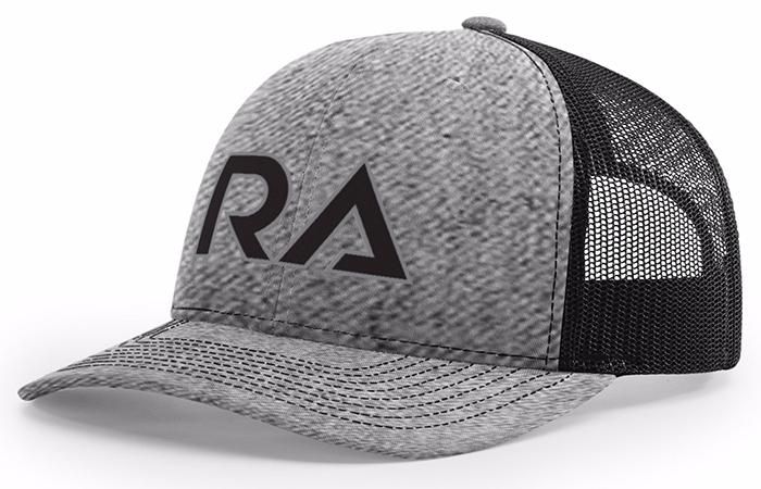 6e282a860e2676 Heather Grey/Black Snap Back Trucker Hat - Kogalla