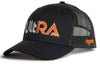 Kogalla UltRA snap-back trucker hat black/black perspective view