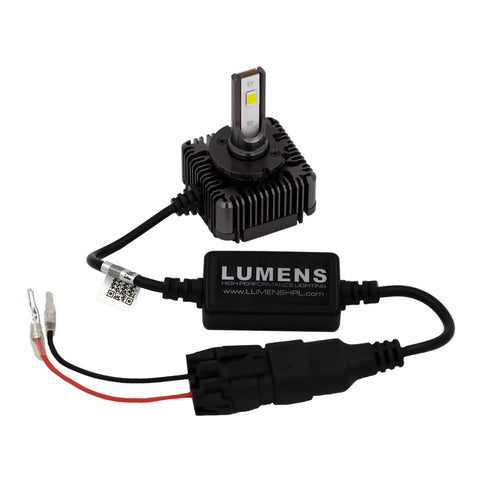 D1S / D1R / D3S /D3R / D8S LED 6000K (each) by LUMENS HPL