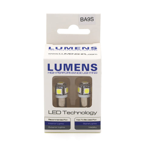 LUMENS HPL LED Bulbs - BA9S (Pair)