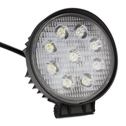LUMENS HPL ECOLINE Round LED Worklight - 27W (each)