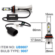 9007 ULTRA LED Bulb & Driver with Smart Box V2 (Pair)