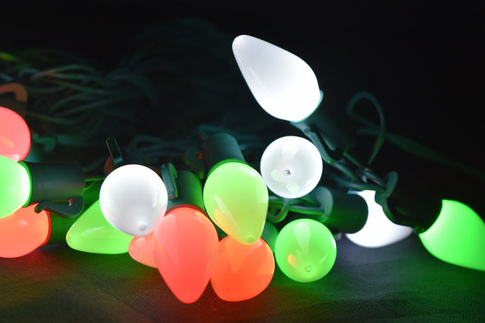 Small Frosted Candle Lites: 28 LEDs (28 Ft), Wi-Fi/App