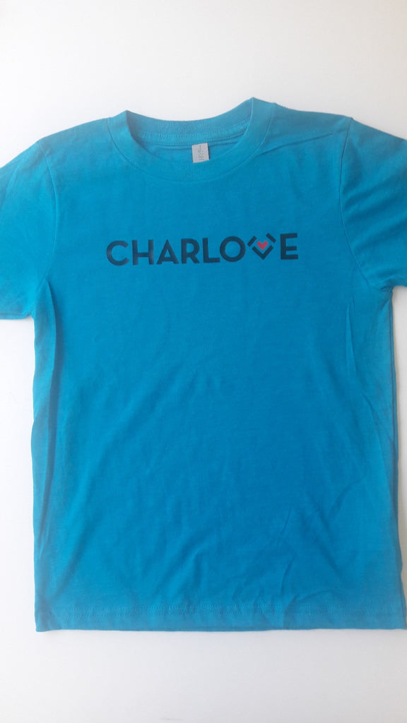 Charlotte T-Shirt Children's Carolina Panthers Blue