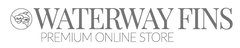 waterway fins logo