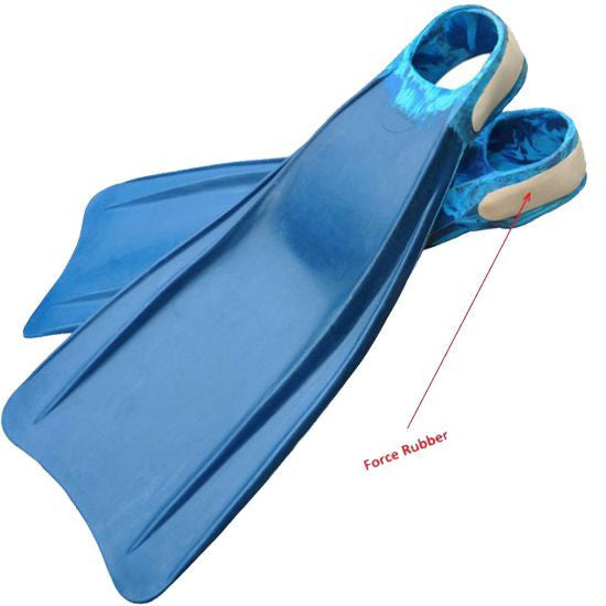 Fins - Dolphin Fins with Open Heel Strap - FreeDivera