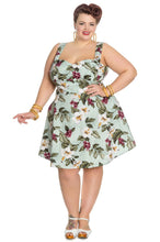Hell Bunny Plus Size Tahiti Dress at Beloved Endeavour Vintage Style Retro