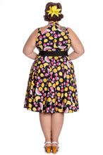 Tutti Fruiti Hell Bunny Dress at Beloved Endeavour Plus Size Retro Vintage