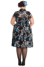 BELOVED ENDEAVOUR Hell Bunny Starry Night Dress Plus Size 40s 1940s reproduction vintage style