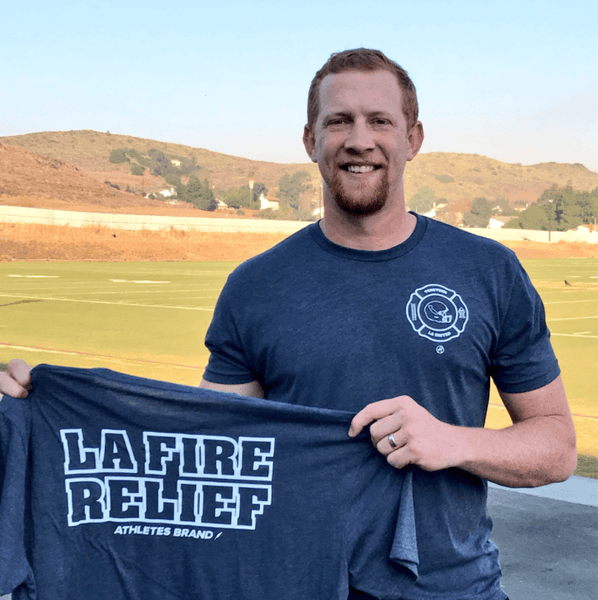 Press Release: Johnny Hekker (SoCal Wildfire Relief)