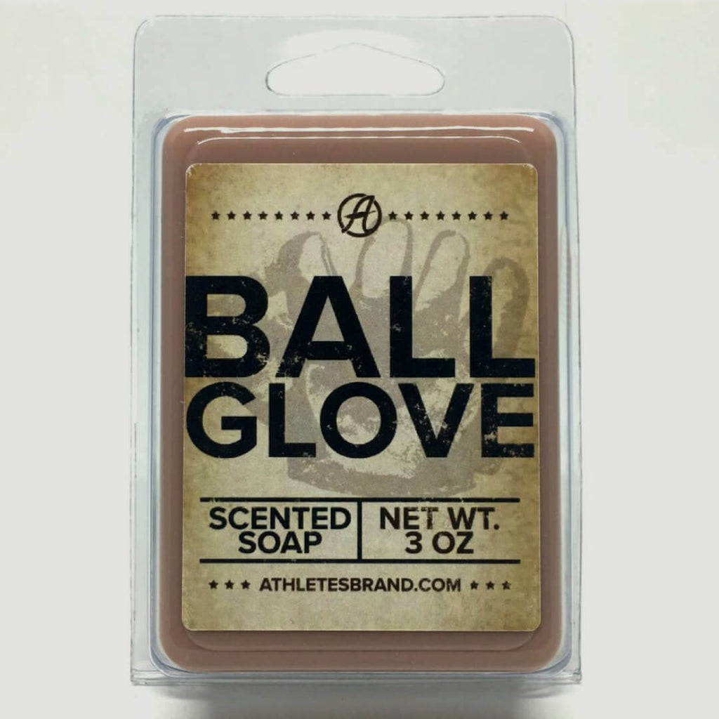 Baseball Glove Scented Soap