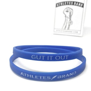 Gut it Out Band (Red & Blue)