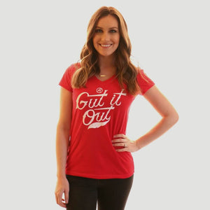 Gut it Out Shirt by Jake Diekman
