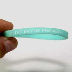Live in the Present Wristband