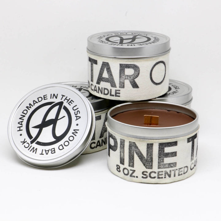Pine Tar Scented Candle