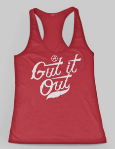Gut it Out Shirt by Jake Diekman (2017 Red & Blue)