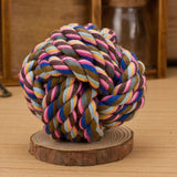 Colorful Rope Ball - Dollar Dog Toys