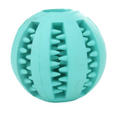 Rubber Treat Ball - Dollar Dog Toys