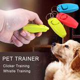 Pet Clicker and Training Whistle - Dollar Dog Toys