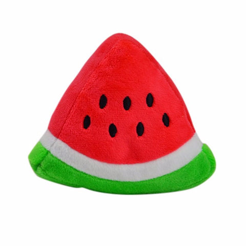 Squeaky Food Toys-Watermelon