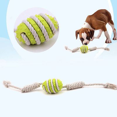 Rubber Dental Teething Rope - Dollar Dog Toys