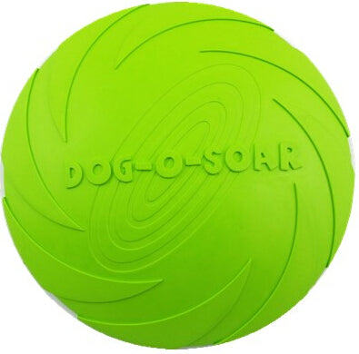 Eco-friendly Natural Rubber Dog Frisbee - Dollar Dog Toys