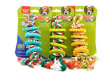 Multicolor Cotton Knot Bone Tug Dog Chewing Toy - Dollar Dog Toys