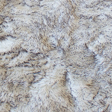 RugBerry Sheepskin Faux Collection 2-inch Thick Shag Rug 5' x 7' ft Black / White