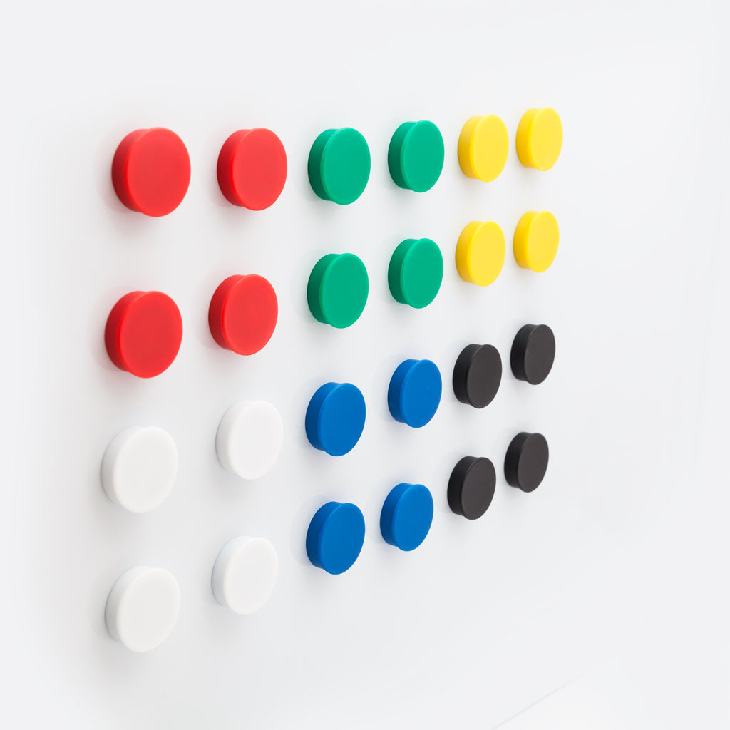 Round Pot Magnets - 24 Ct.