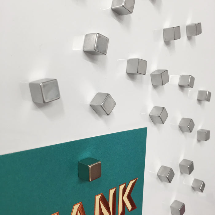 Glass Whiteboard Cube Magnets