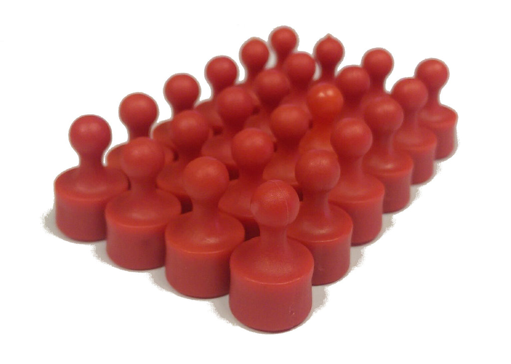 Plastic Pawn Magnets - 24 Ct.