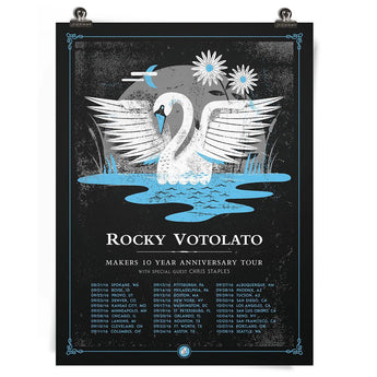 Makers 10th Anniversary Tour Poster