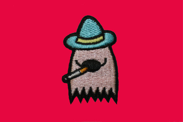 Smoky The Ghost Mini Patch