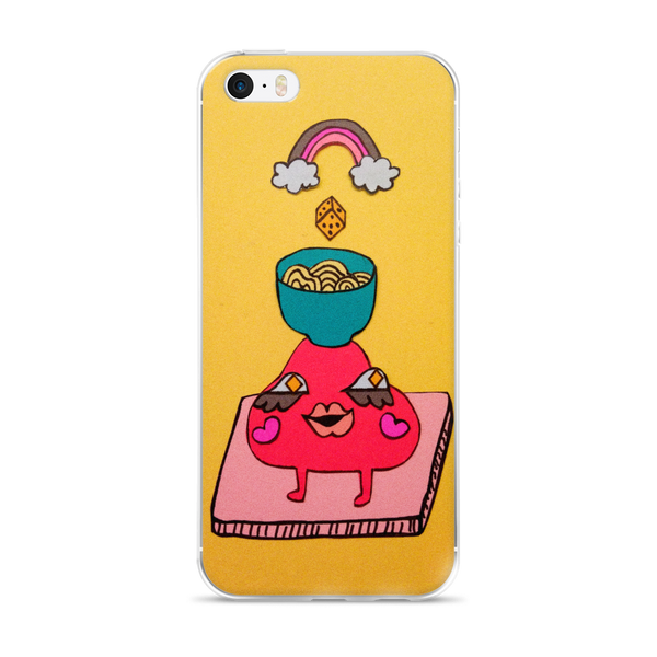 Happy Noodles iPhone Case