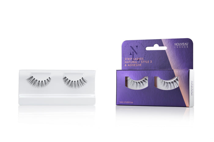 Nouveau Strip Lashes Natural Style 3 - Nouveau Canada