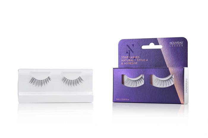 Nouveau Strip Lashes Natural Style 4 - Nouveau Canada