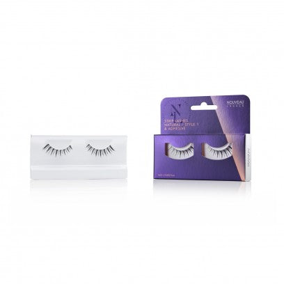 Nouveau Strip Lashes Natural Style 1 - Nouveau Canada