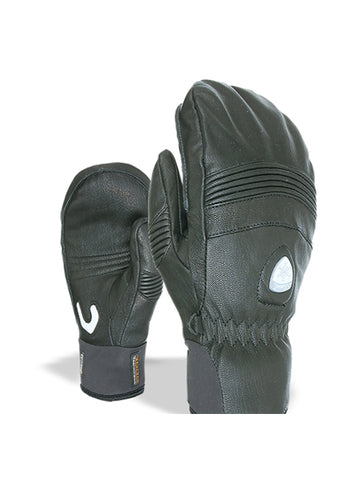 Off Piste Leather Mitten - Women's