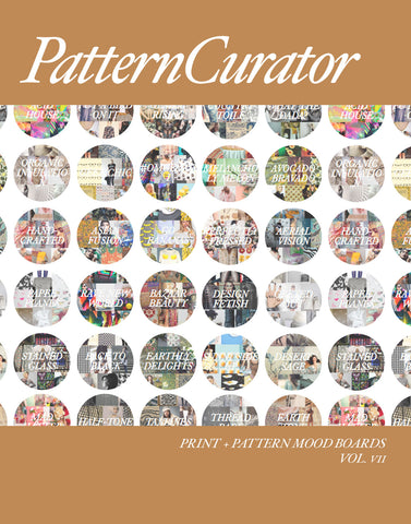 Pattern Curator Print + Pattern Mood Boards Vol. 7 - FALL 2018