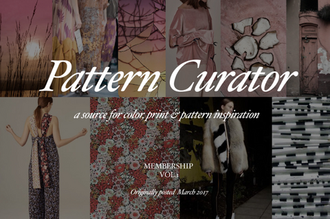 PatternCurator Membership Vol.1 - March 2017  (SPRING 2018)