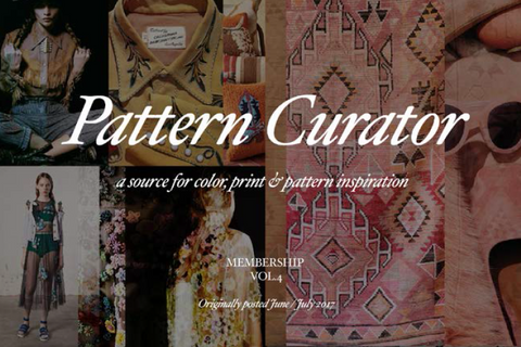 PatternCurator Membership Vol.4 - June/July 2017 (FALL 18)
