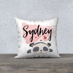Personalized baby gifts unique custom baby name blankets personalized baby name panda pillowcase in blush pink 18 negle Image collections