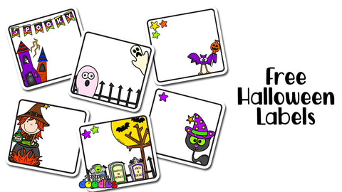 Free Halloween Labels