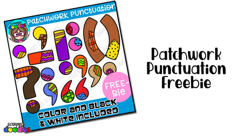 Patchwork Punctuation Freebie